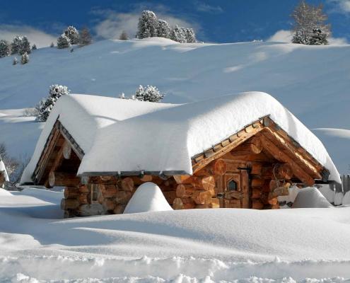 Winter in Zell am See, Schmittenhöhe, Villa Klothilde