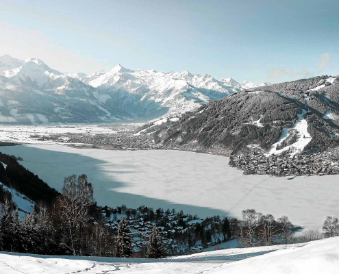 Winter in Zell am See, Villa Klothilde