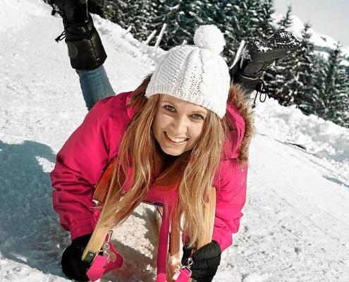Winter in Zell am See, Villa Klothilde