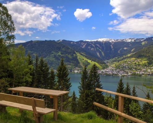 Wandern in Zell am See, Villa Klothilde